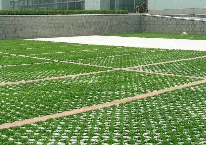 草坪砖效果图